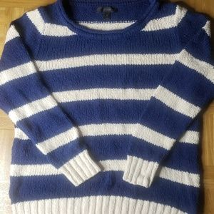 J. Crew | Sweater | Blue &White | Size S